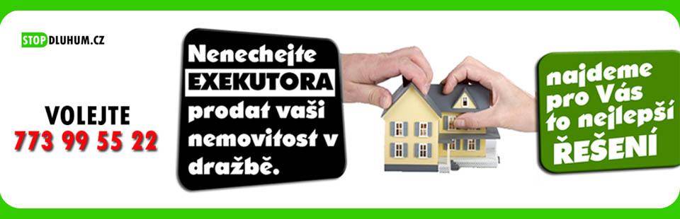 Nenechte exekutora prodat vaší nemovitost v dražbě.