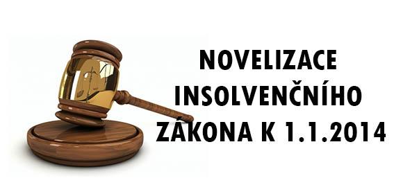 Novelizace insolvenčního zákona pro rok 2014-image