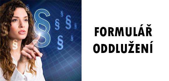 Oddlužení formulář-image
