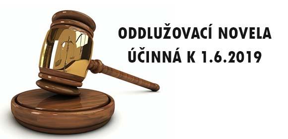 Novela insolvenčního zákona s účinností k 1.6.2019-image